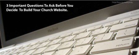 Church Website Where do I start